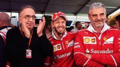 Sergio Marchionne elogia la Ferrari ma predica prudenza,  F1 2018