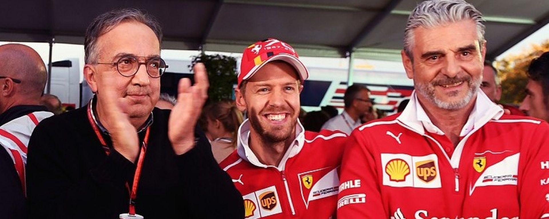 Sergio Marchionne elogia la Ferrari ma predica prudenza