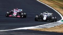 Sergio Perez e Lance Stroll
