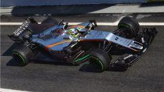Sergio Perez VJM10 2017