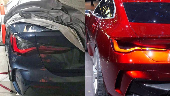 Serie 4 vs Concept 4: cosa cambia al posteriore