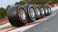 Set di gomme Pirelli P-Zero