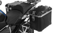 set valigie laterali alluminio nero