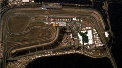 Sezione del circuito di Hockenheim - Visuale aerea 1989