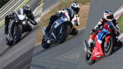 La video sfida tra BMW S 1000 RR, Honda CBR 1000 SP e Yamaha R1 M - Immagine: 1