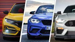 BMW M2 CS-Ford Mustang Mach 1-Honda Civic Type R video drag race