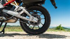 Sfida Maxi Enduro 2021: Ducati Multistrada V4 S, il nuovo forcellone