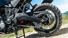 Sfida Maxi Enduro 2021: Harley-Davidson Pan America 1250 Special, dettaglio del forcellone