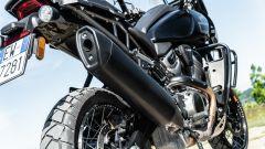 Sfida Maxi Enduro 2021: Harley-Davidson Pan America 1250 Special, dettaglio dello scarico