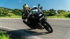 Sfida Maxi Enduro 2021: Harley-Davidson Pan America 1250 Special in piega