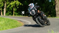 Sfida Maxi Enduro 2021: KTM 1290 Super Adventure S in piega