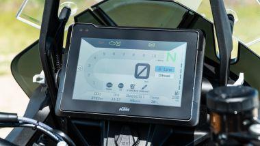 Sfida Maxi Enduro 2021: KTM 1290 Super Adventure S la strumentazione è la più leggibile