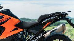 Sfida Maxi Enduro 2021: KTM 1290 Super Adventure S, le sedute di pilota e passeggero... un tantino dure