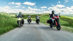 Sfida Maxi Enduro 2021: Multistrada V4, R 1250 GS, KTM e Harley