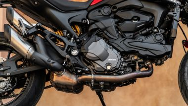 Sfida Naked medie: Ducati Monster +, dettaglio del motore
