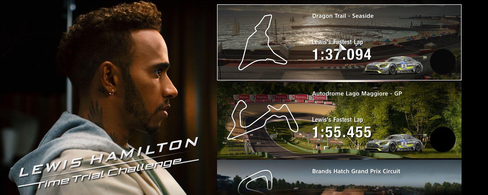 Sfide contro Lewis Hamilton nel nuovo DLC di Gran Turismo Sport