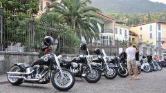 Sfilata di Harley-Davidson a Salò