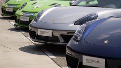 Sfilza di Porsche gommate Michelin Pilot Sport Cup2