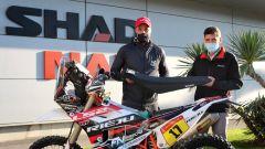 Shad alla Dakar 2021 con Joan Pedrero