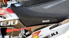 Shad alla Dakar 2021: particolare della sella