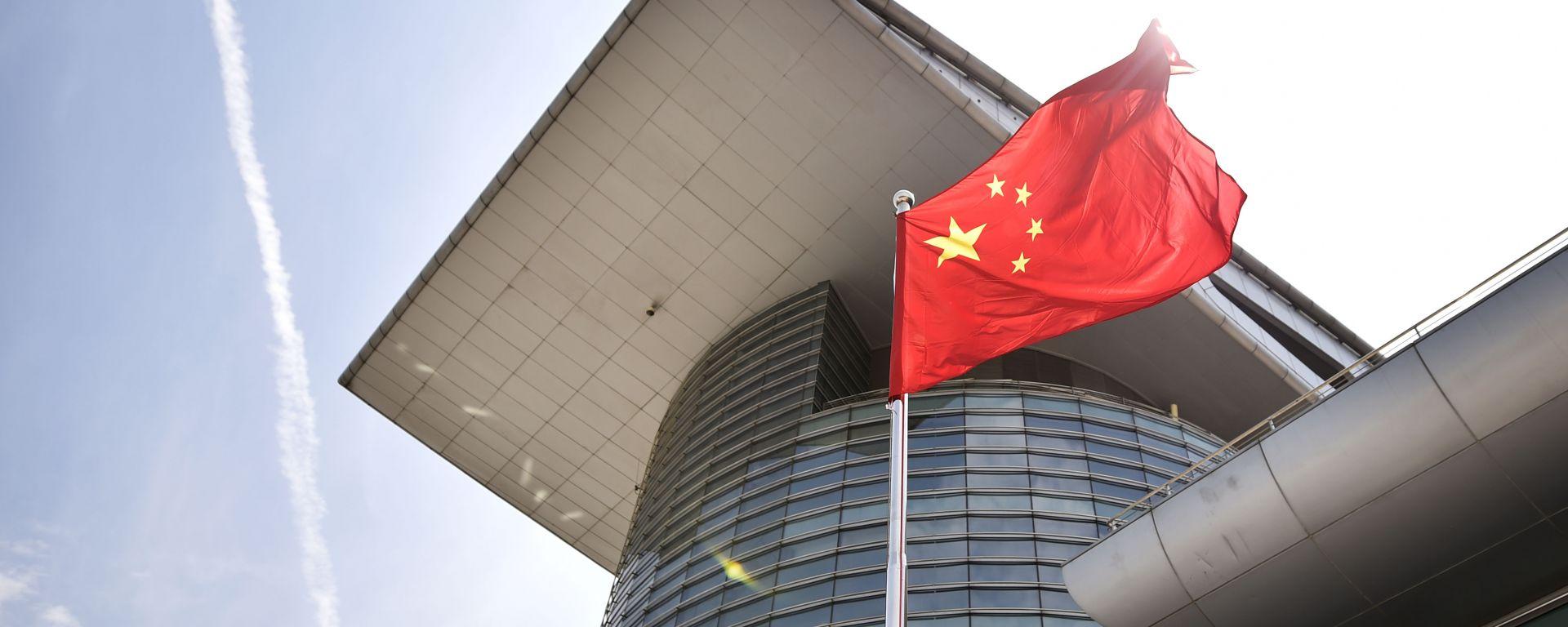 Shanghai International Circuit, bandiera cinese