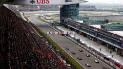 Shanghai International Circuit - tribune e box
