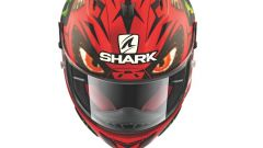Shark Race-R Pro replica Lorenzo Devil Spirit, vista dall'alto
