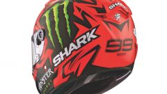 Shark Race-R Pro replica Lorenzo Devil Spirit, vista posteriore
