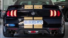 Shelby GT-H, il posteriore