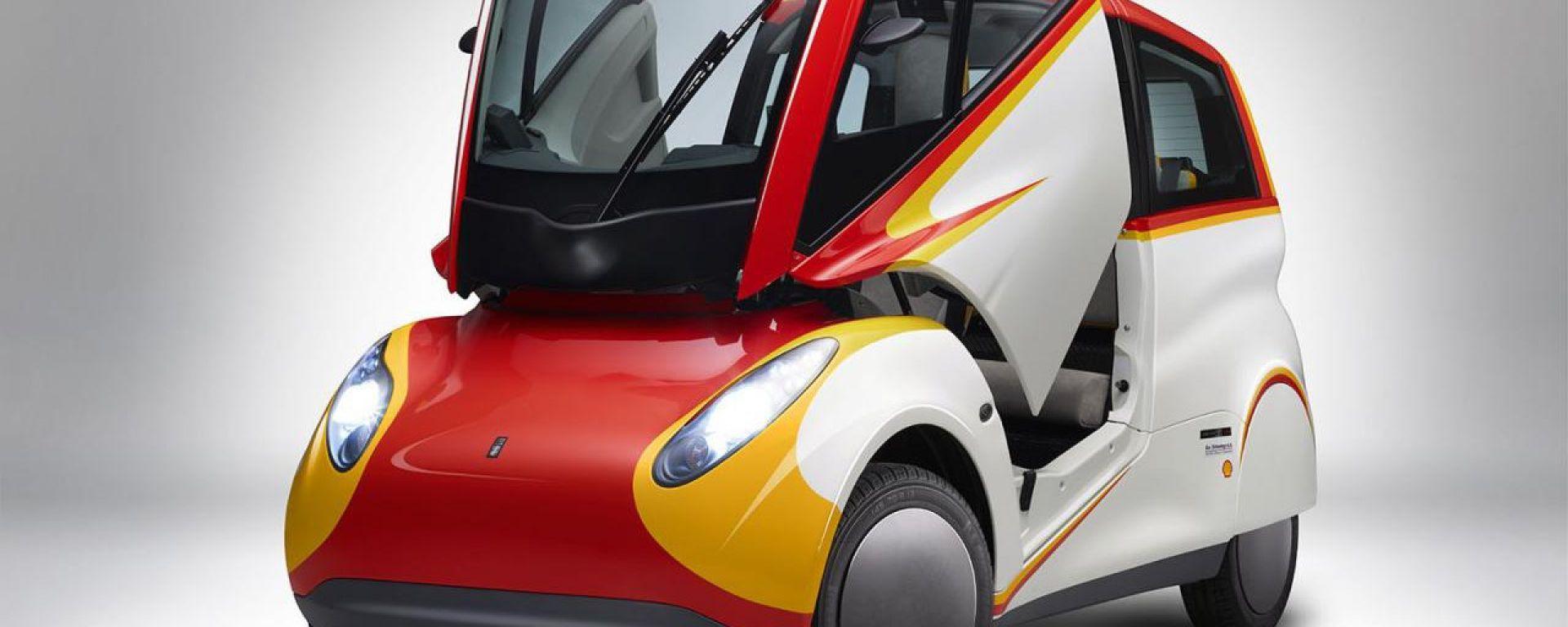 Shell concept car: ecco come le citycar possono consumare meno