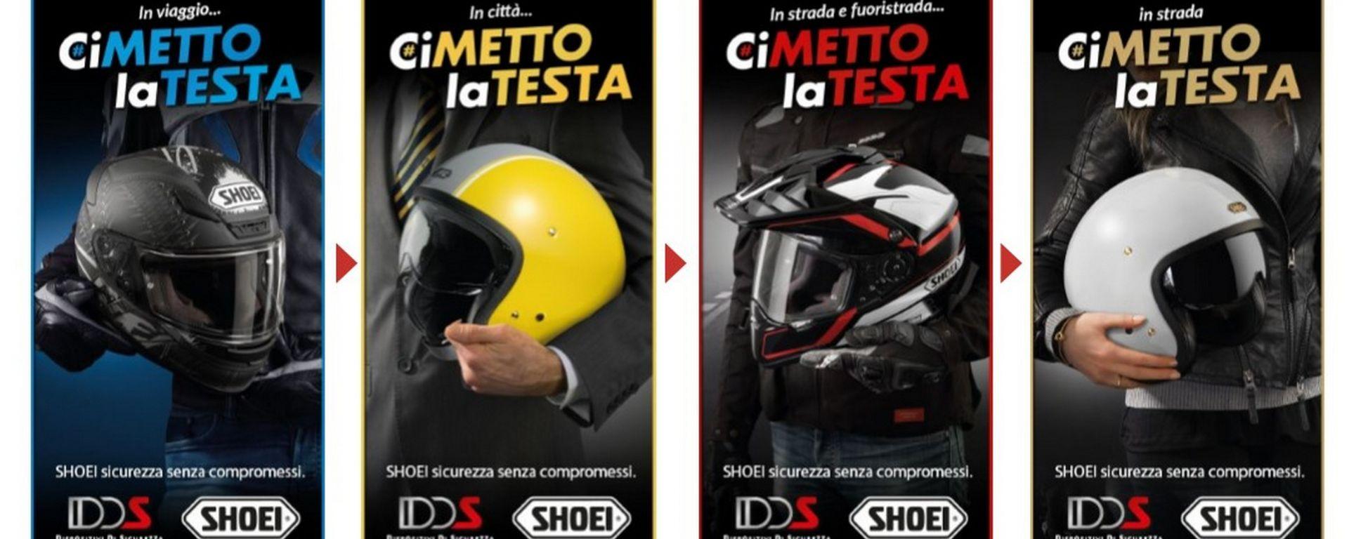 Shoei: online il nuovo portale cimettolatesta