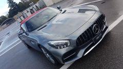 Siete pronti a entrare in pista con la Mercedes AMG GT-C