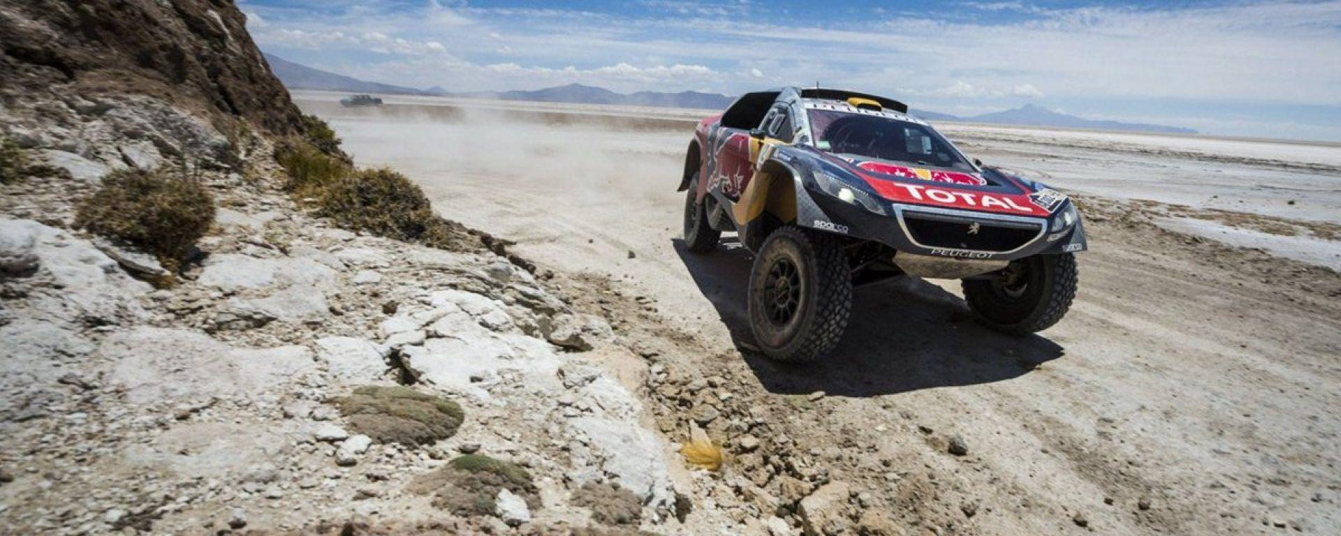 Silk Way Rally: tre Peugeot 2008 DKR pronte a partire