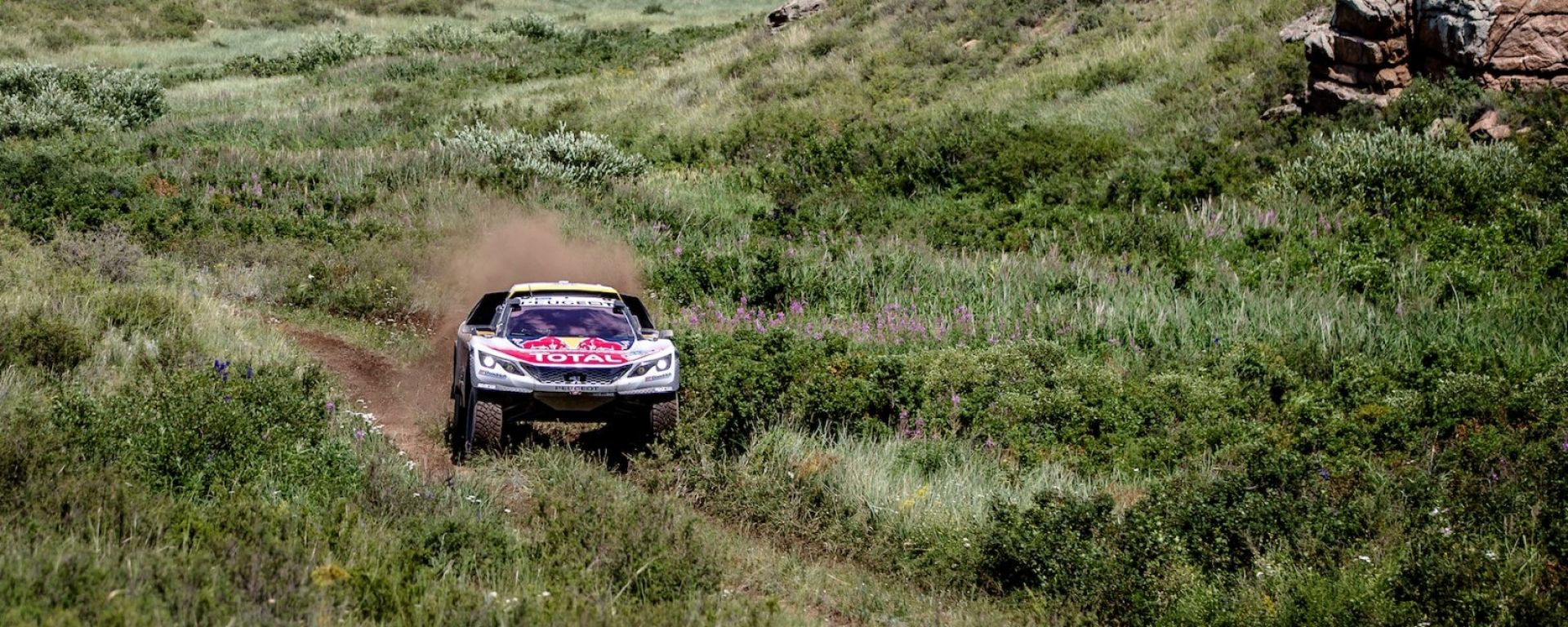 Silk Way Rally 2017 - Peugeot Total Sport