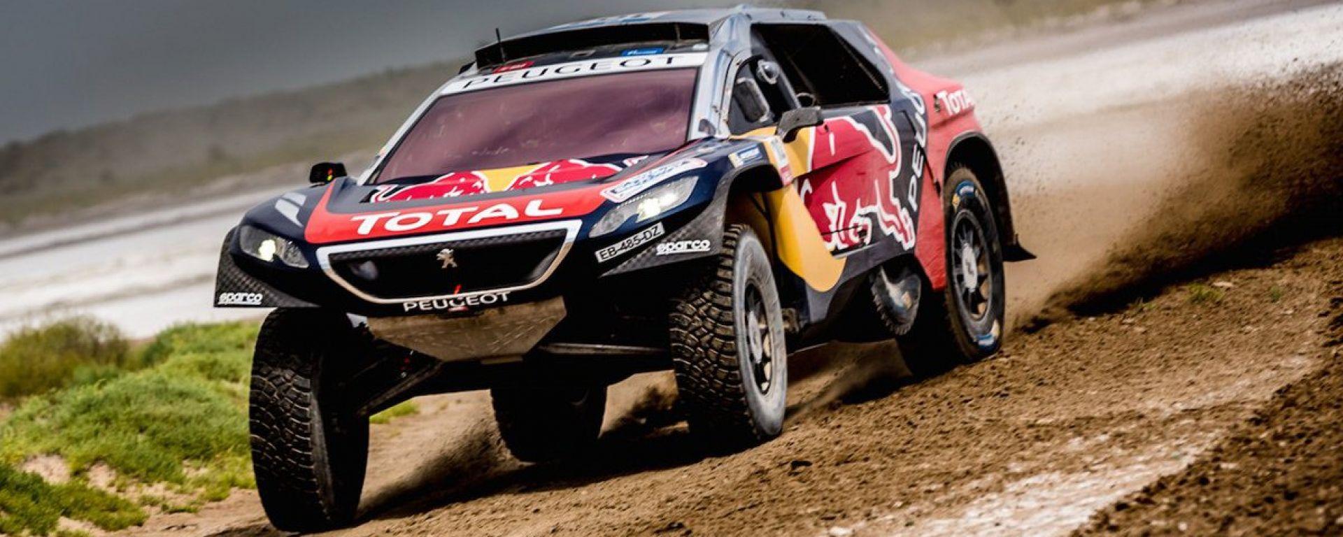 Silk Way Rally Tappa 6: Peugeot non vince ma resta in testa