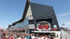 Silverstone Circuit - podio