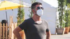 Simon Cowell a Malibu per fare shopping