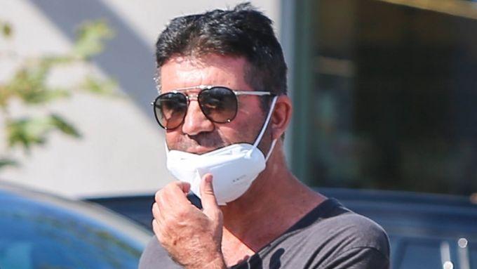 Simon Cowell dopo l'incidente