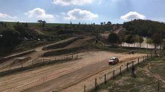 Simone Campedelli è il migliore nella prova spettacolo del Rally Adriatico