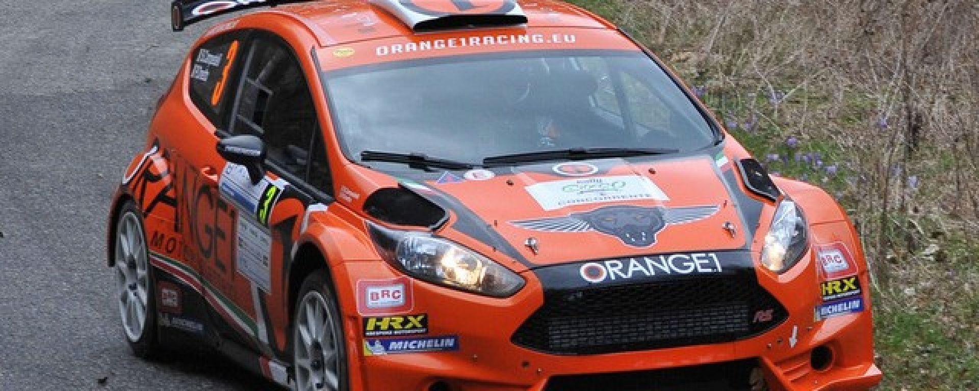 Simone Campedelli Ford Fiesta R5 team Orange1