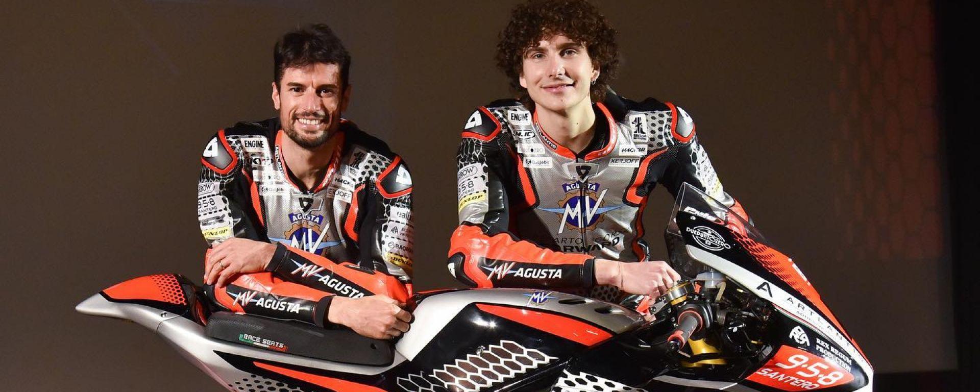 Simone Corsi e Lorenzo Baldassarri