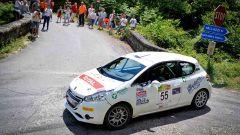 Simone Giordano e la Peugeot 208 R2
