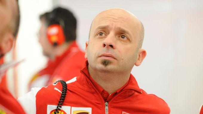 Simone Resta nel 2017, ai tempi della Ferrari