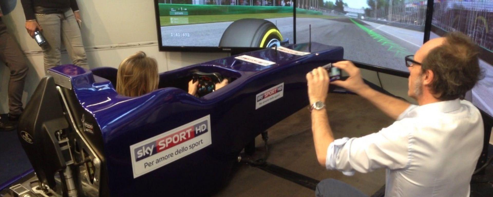 Simulatori Fbrand: il modo più facile per provare una supercar
