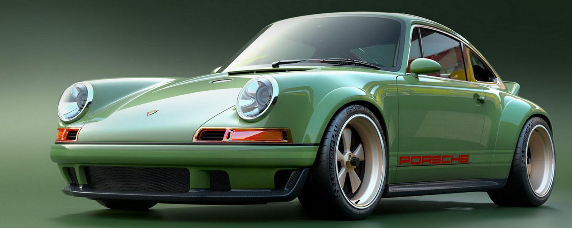 Singer e Williams assieme estremizzano la Porsche 911 964