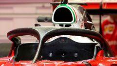 Sistema HALO sulla Ferrari F1