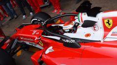 Sistema HALO sulla Ferrari