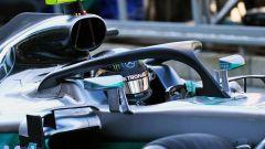 Sistema HALO sulla Mercedes F1