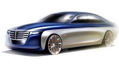 Sketch di un'ipotetica Mercedes Classe U del designer Scott Wu Kaiser