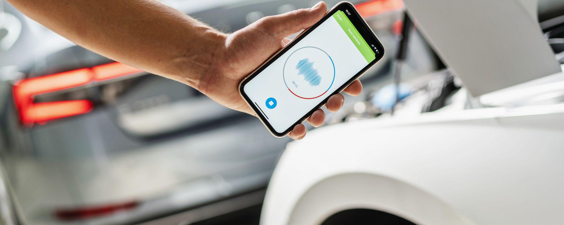 Skoda, un'app diagnostica il problema tramite il...rumore